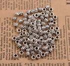 100Pcs Tibetan Silver Charms Spacer Beads For Jewelry Makings 5X4MM B3084