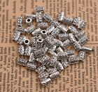 50/100PCS Tibetan silver big hole 2.5MM flowers Charms spacer beads B3085