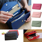 Women Fashion Bifold Wallet Leather Clutch Card Phone Holder Purse Long Handbag