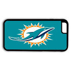 MIAMI DOLPHINS SAMSUNG GALAXY & iPHONE CELL PHONE HARD CASE RUBBER COVER
