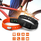 New ID107 Bluetooth Smart Bracelet Heart Rate Fitness Tracker For IOS Android MO