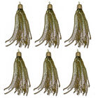 3Pair Tassel Pendent Charms for Jewelry Necklace Bracelet Making DIY Finding