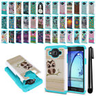 For Samsung Galaxy On5 G550 G500 Hybrid Shock Proof Hard TPU Case Cover + Pen