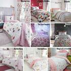 Childrens Quilt Duvet Cover & Pillowcase Bedding Sets Or Matching Kids Curtains