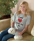 TEE SHIRTS FOR RESCUE DOG MOMS  I LOVE MY RESCUE DOG  NEW