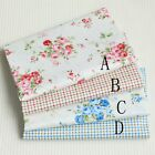50cm*160CM Fasion Flower 100%cotton fabric Quilting  Clothes Bedding Sewing 032