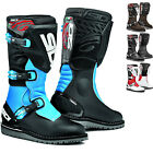 Sidi Trial Zero.1 Motorcycle Boots Motorbike Trials Biker Rubber Sole All Sizes
