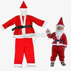 5Sets Christmas Santa Claus Fancy Dress Costume Children Baby Outfits Clothes