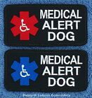 MEDICAL ALERT DOG PATCH 2X4 inch service Danny & LuAnns Embroidery assistance