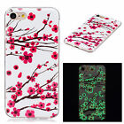 Luminous Clear Glow In The Dark Fluorescence Soft TPU Case Cover For Celephones