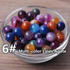 Natural Gemstone Stone Round Loose Beads lot 4mm 6mm 8mm 10mm DIY Jewelry Making