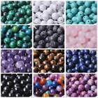 Natural Gemstone Stone Round Loose Beads 4mm 6mm 8mm 10mm Diy Jewelry Making