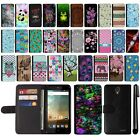 For ZTE Prestige N9132 Cheers Avid Trio Design Flip Wallet POUCH Case Cover +Pen