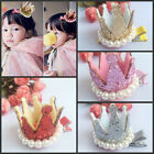 Fashion Princess Style Cute Hairpin with Crown Pearl for Kid Baby Girls New