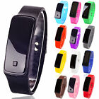Unisex Digital LED Sports Watch Silicone Band Wrist Watches Men Women Fashion