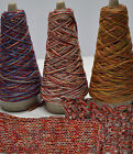 100g Multi-coloured Chunky Cotton-Linen yarn multiple untwisted ply's