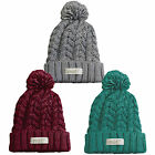 Neff Kaycee Knitted Cap Winter Hat With Bobble