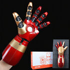 Iron Man Mk42 Left / Right Arm Laser Device+Palm Light Special Light+Sound Props