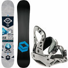 FTWO F2 Reverse Snowboard + D Vision Binding set All-Mountain Freestyle