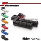 """M-Grip CNC 1.5"""" Adjustable Riser Front Foot Pegs for MV Agusta F4 1000S All year"""