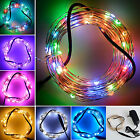 10M/33Ft 100 LED Copper Wire String Fairy Lights Wedding Party Decor Xmas+Power