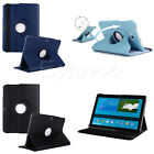 New 360 Rotating Faux Leather Stand Case Cover For Samsung Galaxy Tab4 10.1""