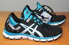 Asics Wmns Gel Synthesis Trainer Black Island Blue H350L-9093 Womens 6.5 10.5