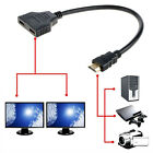 1080P HDMI Male to Female 1 In 2 Out Splitter Cable Adapter Converter for PS3 TV