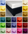 Cotton Blend EXTRA DEEP FITTED BED SHEETS Non Iron - Single, 4ft, Double, King