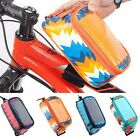 "Cycling Bags ROSWHEEL Frame Front Tube Bag  5.2 /5.7 "" Touchscreen Case"