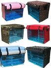 Pet Polyester Waterproof Dog Cat Kennel Crate Cover for Wire Crates