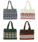 Kusan 100% Wool Handknit Handbag Choice of Patterns