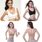 Women Yoga Fitness Stretch Workout Tank Top Seamless Exercise Running Sports Bra