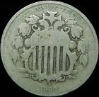 *HHC* Shield Nickel 5c, 1869 (Inv #9.38)