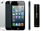 Apple iPhone 5 16GB 4G LTE Factory World Unlocked GSM Phone w/ Free PowerBank SB