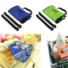 Hot Insulated Grab Bag Hot or Cold Reusable Grocery Shopping Bag Clip-To-Cart