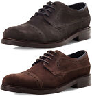 Goodwin Smith Cliviger Suede Derby Mens Brogue Shoes ALL SIZES AND COLOURS