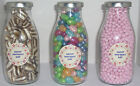 MOTHER'S DAY 26TH MARCH 250ML GLASS MILK BOTTLE FULL OF MUMS FAVOURITE SWEETS
