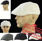 Pageboy Newsboy Wedding Party Driving Golf Great Gatsby 20s Flat Cap Hat Cotton