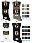 3 Mens No Non Elastic 100% Cotton BIG FOOT Loose Wider Top Socks UK 11-14