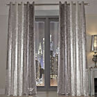 Natala Kylie Minogue Luxury Ring Top Curtains in Velvet with Rich Ombre Effect