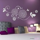 Wall Tattoo Tendril Juliette - Floral Blume Flower Butterfly Wall stickers