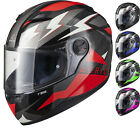 Agrius Rage Voltage Full Face Motorcycle Helmet Motorbike Bike Pinlock Ready