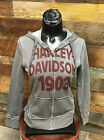 "Yellowstone Harley-Davidson Dealership Women's ""Greasy"" Zip Up Hoodie"