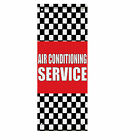 air conditioning in car - Air Conditioning Service Auto Body Shop Car Double Sided Pole Banner Sign