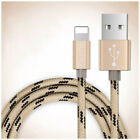 2M To USB FAST Charging Data Sync Braided Cable Adapter For Apple iPhopne 7  6 5