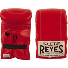 Cleto Reyes Leather Boxing Bag Gloves - Red