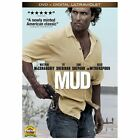 Mud (DVD, 2013, Includes Digital Copy UltraViolet) Matthew McConaughey,  NEW