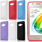S-Line Soft TPU Silicone Matte Skin Back Case Cover for Samsung Z2 High Quality