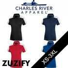 Charles River Ladies Micropique Wicking Polo Shirt. 2315
